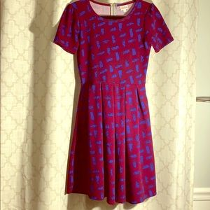 LuLaRoe Amelia Dress with Pockets